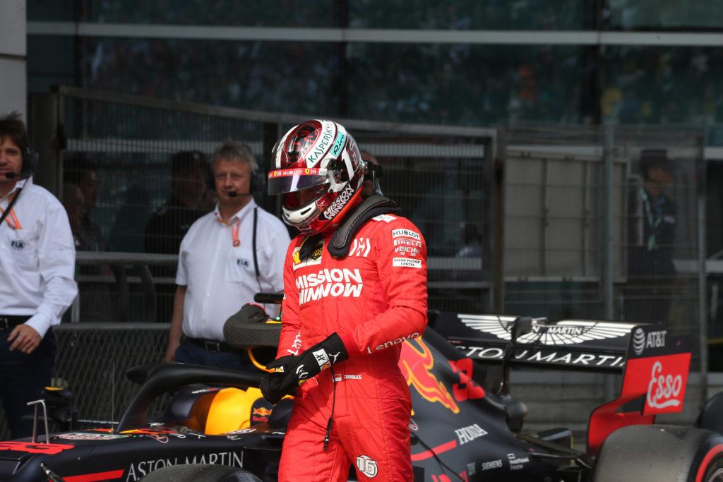 """F1   Ferrari, Leclerc: """"Sono arrabbiato con me stesso, ho commesso un errore che dovevo evitare"""""""