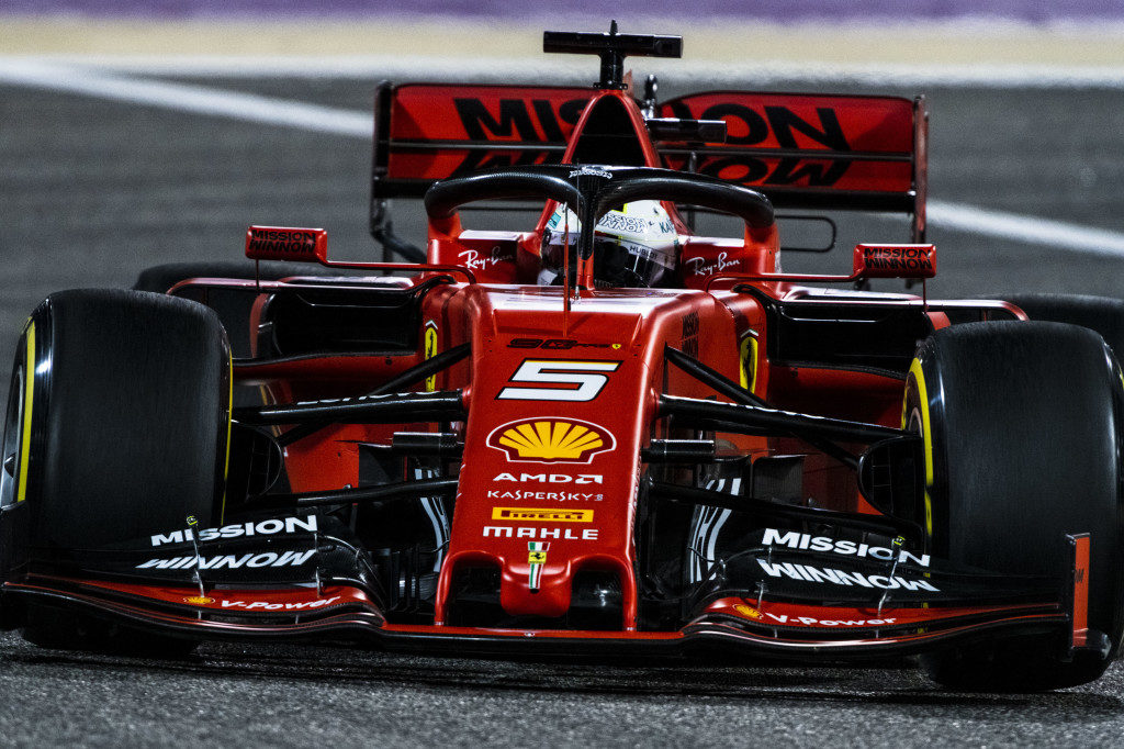 F1:Cina, Vettel
