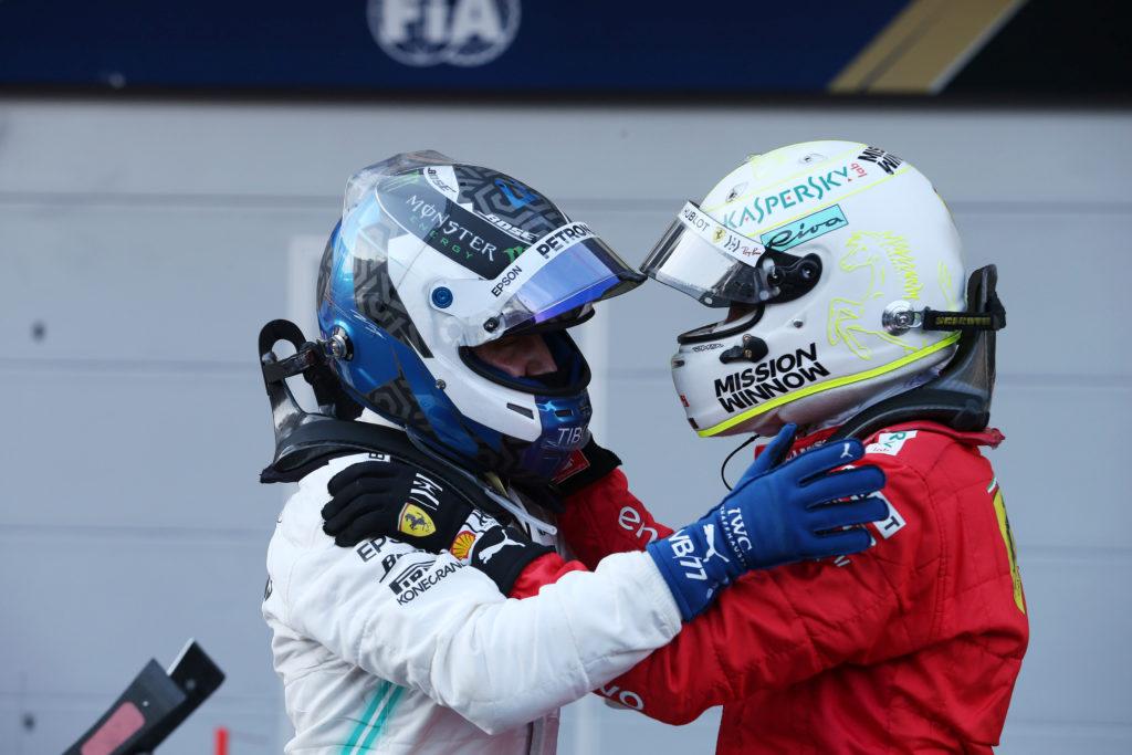 """F1   Ferrari, Vettel: """"Mercedes? Sono molto veloci, ottengono sempre il massimo"""""""