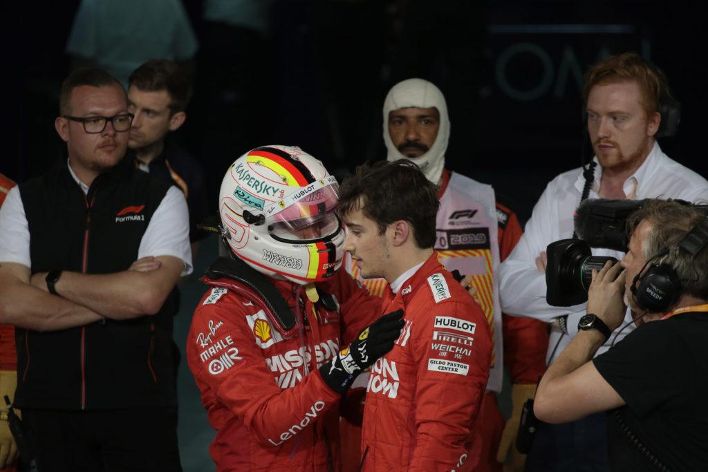 """F1   Ferrari, Vettel: """"Leclerc? Mi spinge a dare il massimo"""""""