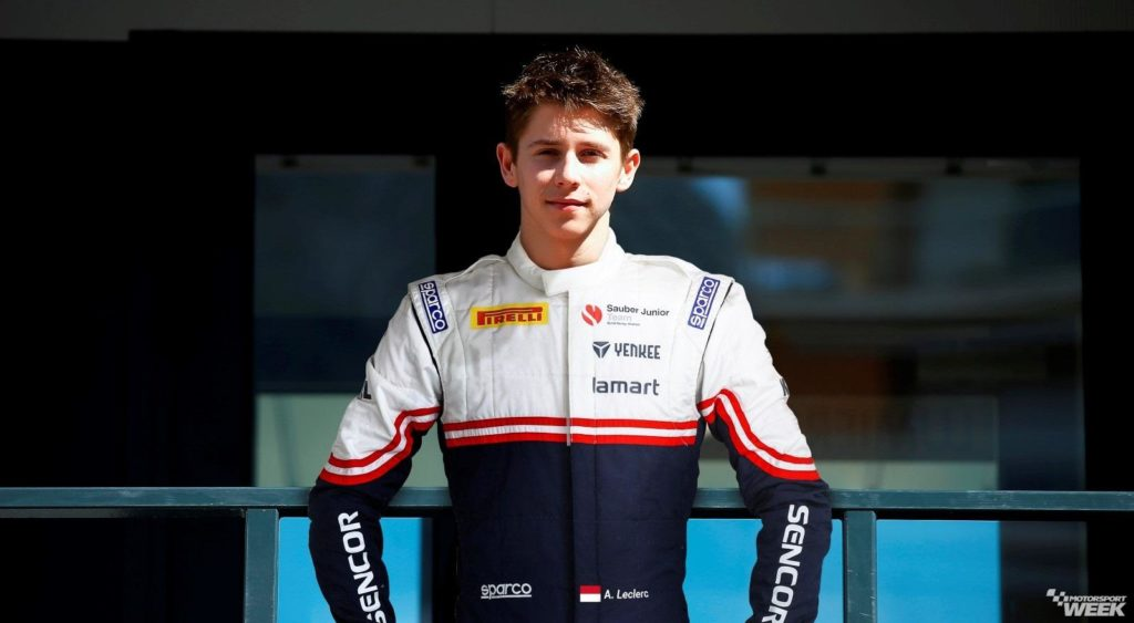 F4 | Arthur Leclerc promosso all'interno del Junior Team Sauber