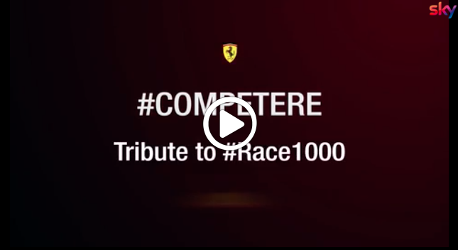 F1 | GP Cina, il tributo della Ferrari per il 1000esimo GP della storia [VIDEO]