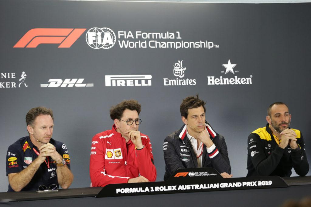 F1 | GP Cina, Binotto e Wolff presenti alla conferenza stampa di venerdì mattina