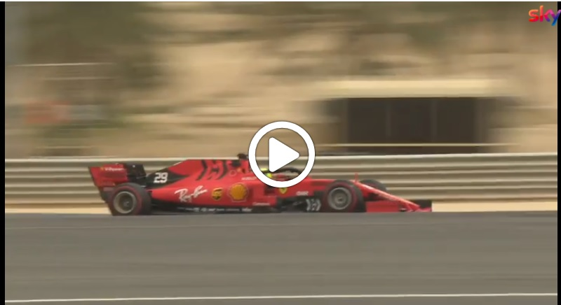 F1 | Mick Schumacher e il debutto sulla Ferrari SF90: il suo Day-1 nei test in Bahrain [VIDEO]