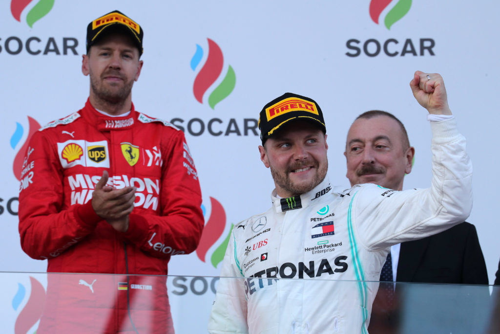 Formula 1 | Classifiche mondiali: Bottas torna al primo posto, Vettel a -35