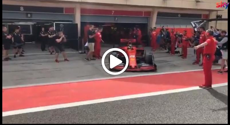 F1 | Schumacher in Ferrari, primi chilometri in pista del tedesco sulla SF90 [VIDEO]