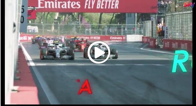 Formula 1 | GP Baku, Mercedes protagonista anche in Azerbaijan: gli highlights della gara [VIDEO]
