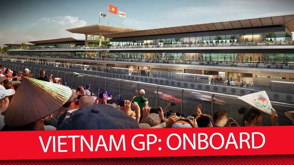 Formula 1 | GP Vietnam, rilasciato un primo onboard del circuito di Hanoi [VIDEO]