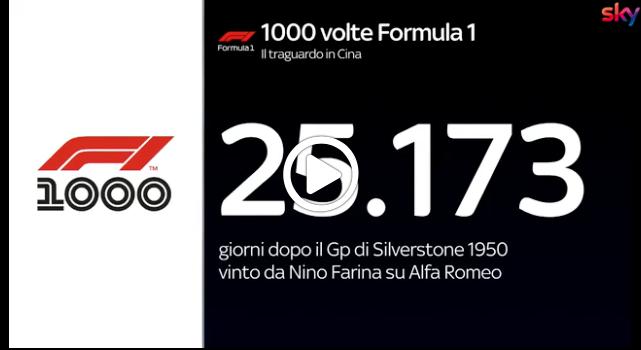F1 | GP Cina, i numeri più importanti della corsa a Shanghai [VIDEO]