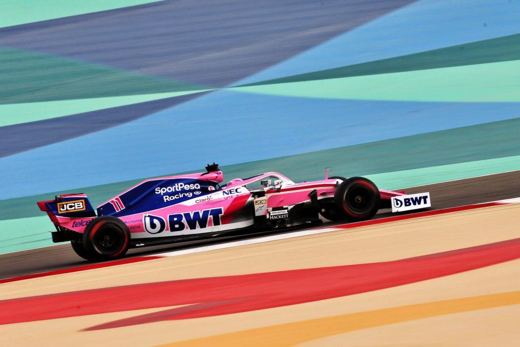 F1 Test | Racing Point, test in Bahrain utile allo sviluppo della RP19