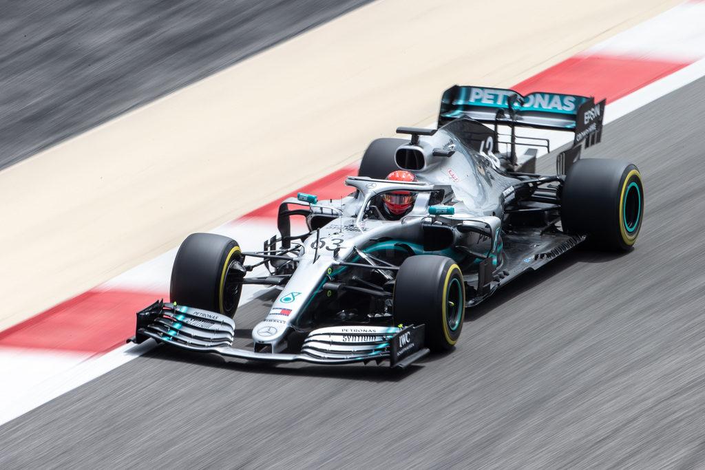 Test Bahrain 2019: Russell su Mercedes chiude davanti a tutti