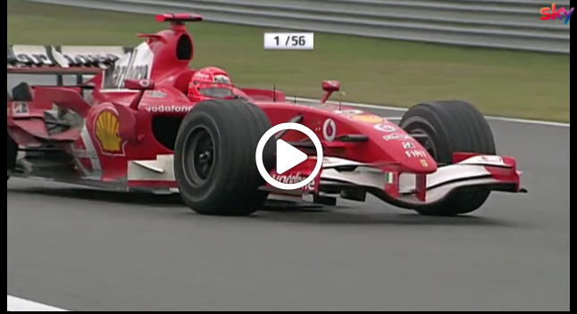 F1 | GP Cina 2006,  l'ultima vittoria di Michael Schumacher con la Ferrari [VIDEO]