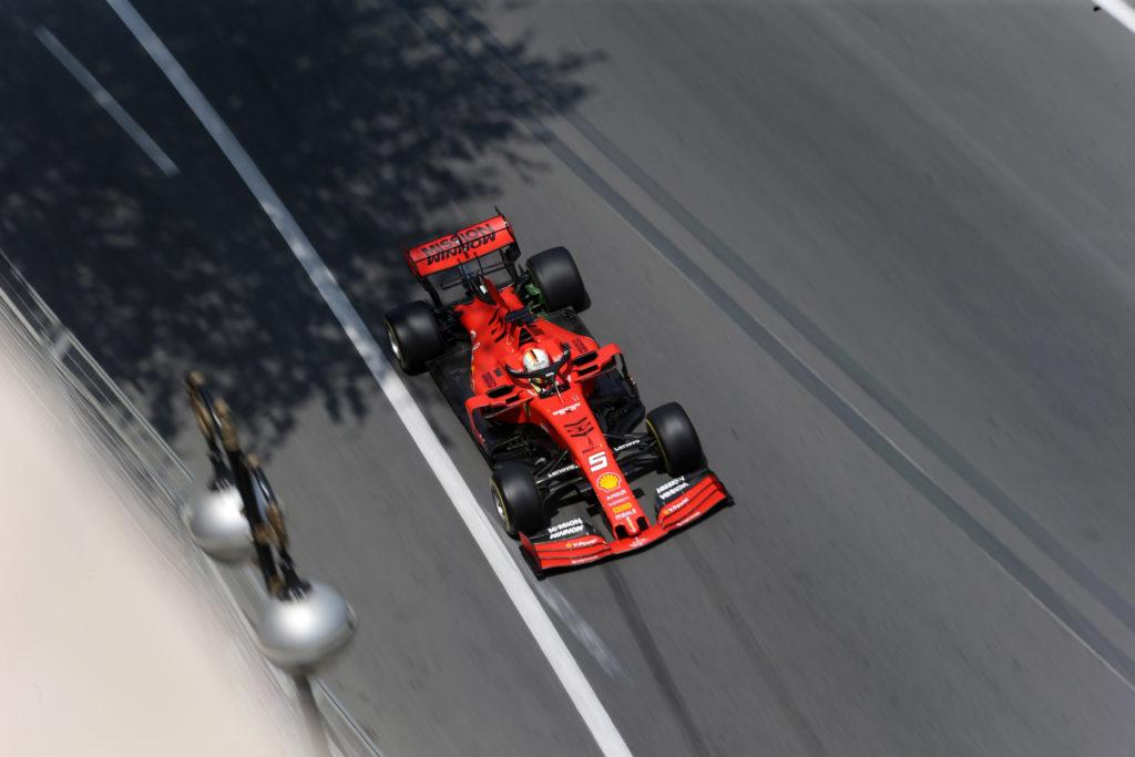 Formula 1 | GP Azerbaijan, 13 minuti di libere per Vettel e Leclerc in mattinata