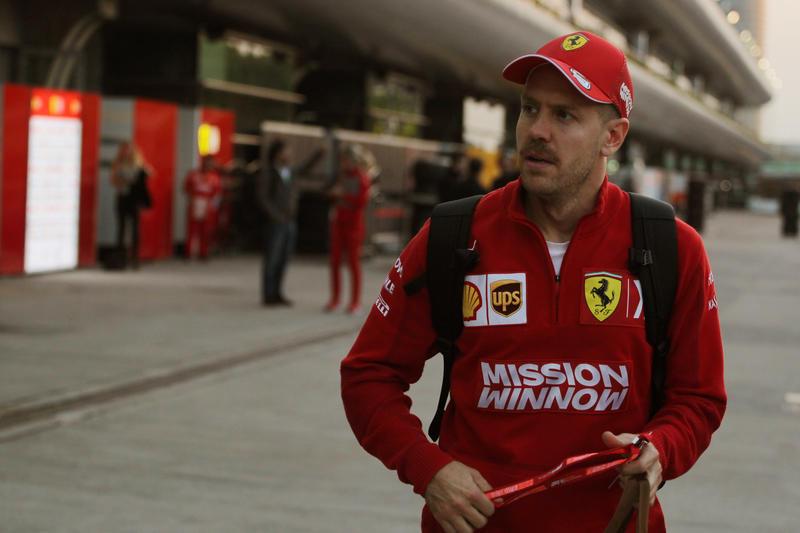 """F1   Ferrari, Vettel: """"Contento per il podio ma manca ancora la velocità"""" [VIDEO]"""