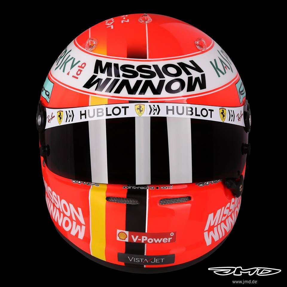 F1   GP Monaco, Vettel omaggia Lauda con un casco celebrativo