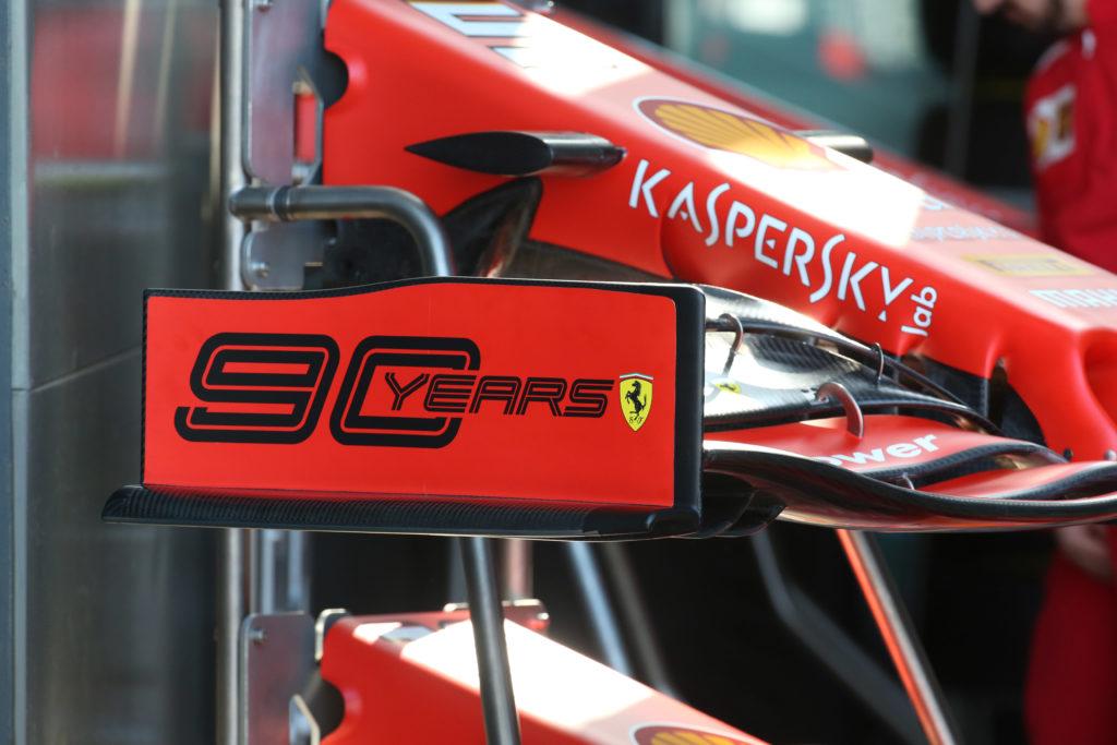 F1 | Ferrari, in Canada e Francia torna il logo '90 Years'