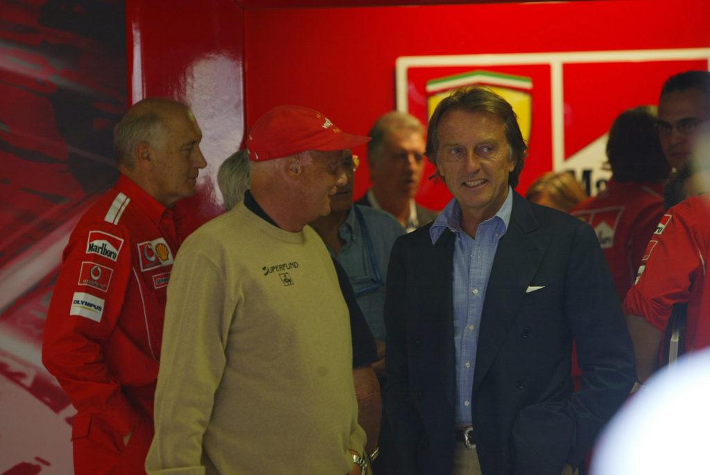"""F1   Montezemolo: """"La scomparsa di Lauda lascia un enorme vuoto dentro di me"""""""