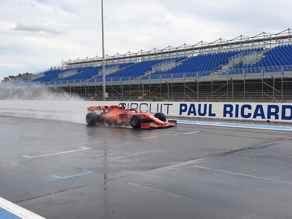 F1 | Pirelli, Ferrari e Red Bull in pista al Paul Ricard per testare le gomme da bagnato 2020