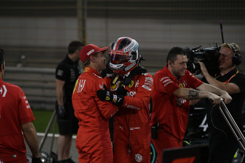 """F1   Leclerc: """"Vettel? Vogliamo batterci, ma dobbiamo lavorare insieme per migliorare la monoposto"""""""
