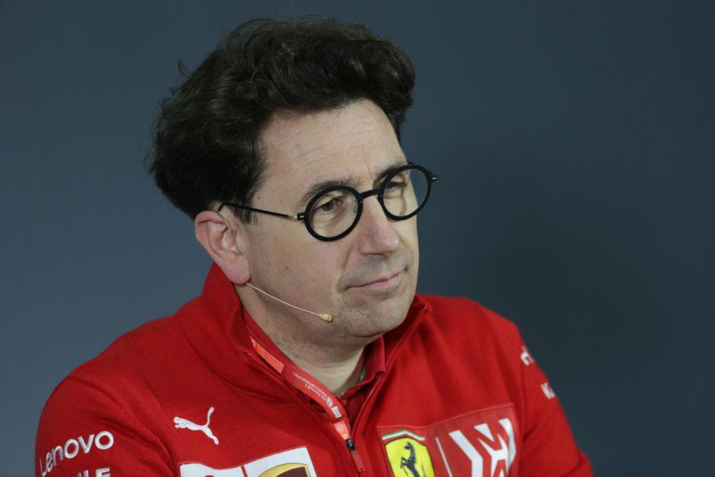 """F1   Ferrari, Binotto: """"Le gomme attuali richiedono caratteristiche meccaniche e aerodinamiche differenti"""""""