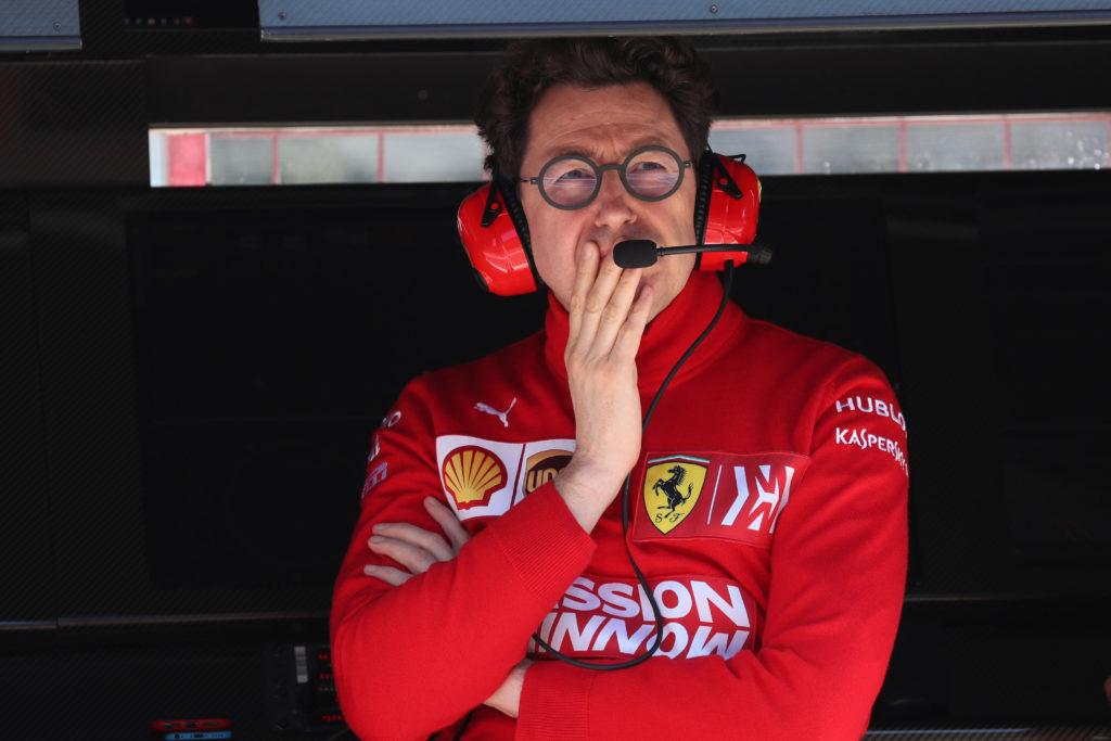 F1, Binotto: 'E' stata una lezione, ma non molliamo'