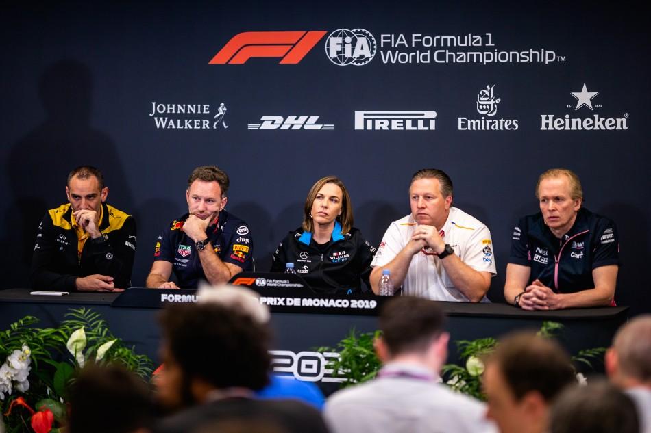 F1 | Williams, Red Bull, McLaren e Renault contrarie al potere di veto della Ferrari