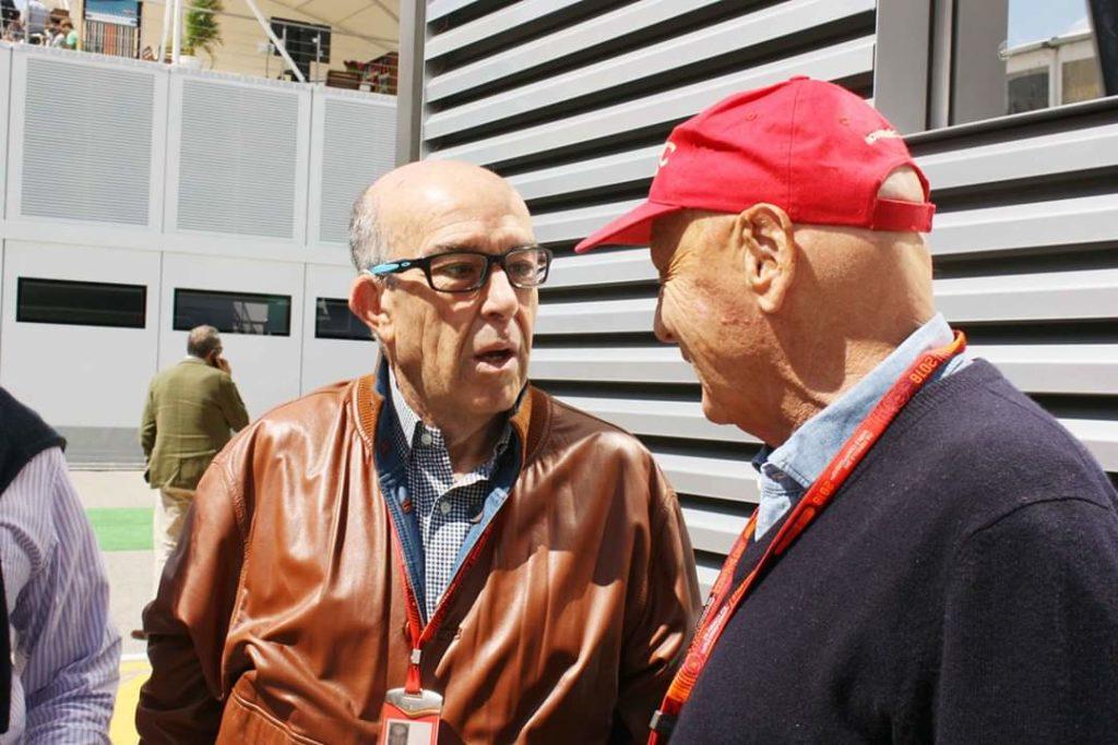 """F1   Ezpeleta: """"Con Niki ho perso un amico"""""""