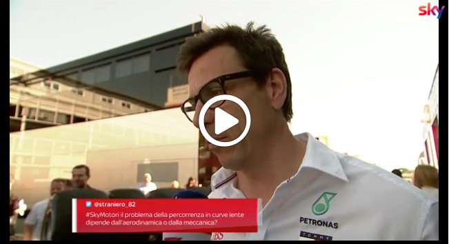 """Formula 1   GP Spagna, Wolff entusiasta: """"Performance soddisfacente, Hamilton è tornato forte"""" [VIDEO]"""