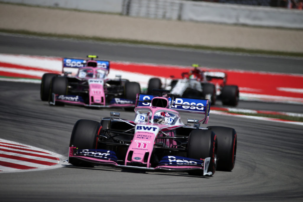 "F1   Racing Point, Perez: ""Weekend da dimenticare"""