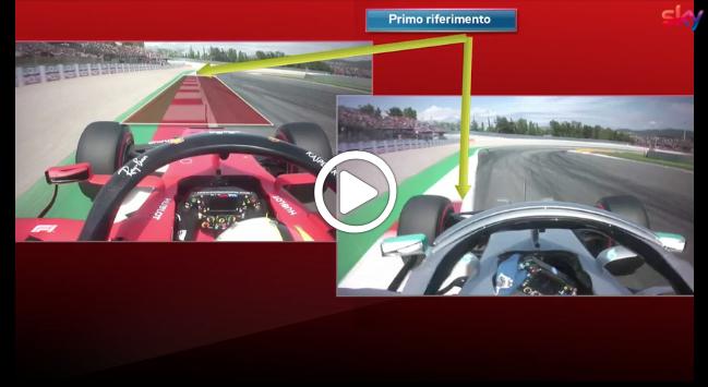 F1 | GP Spagna, Vettel vs Bottas: il confronto nel terzo settore [VIDEO]