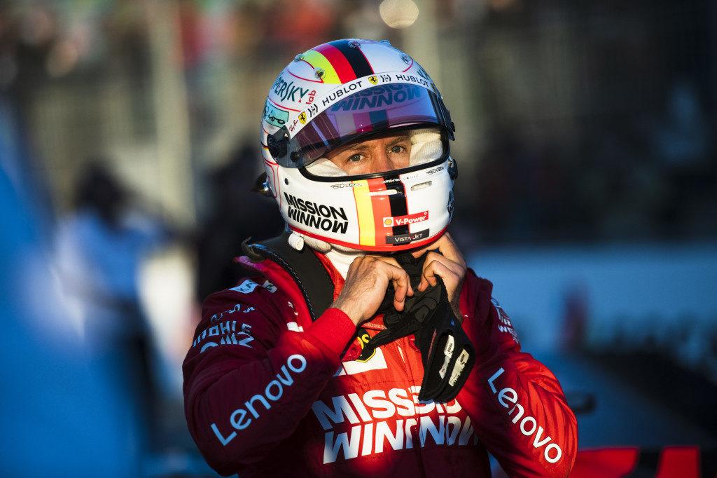 """F1   Ferrari, Vettel: """"Abbiamo problemi con le gomme"""""""
