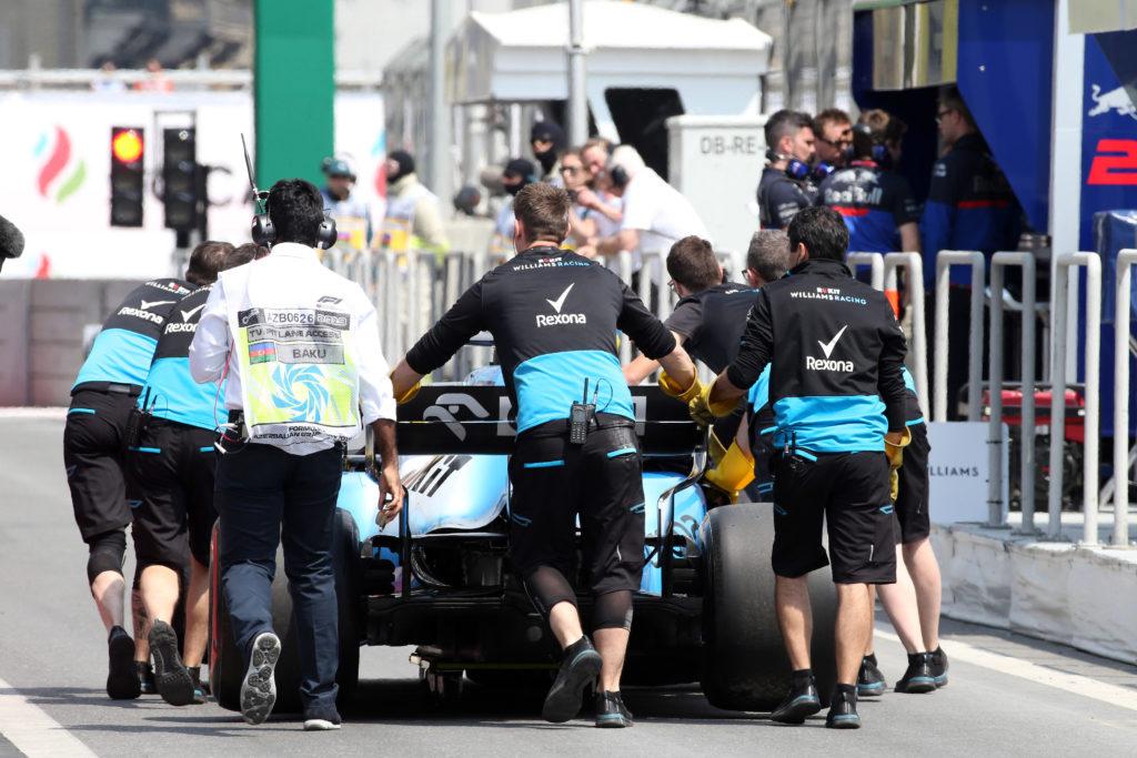 F1 | Williams, Baku pronta a rimborsare i danni derivanti dall'impatto col tombino
