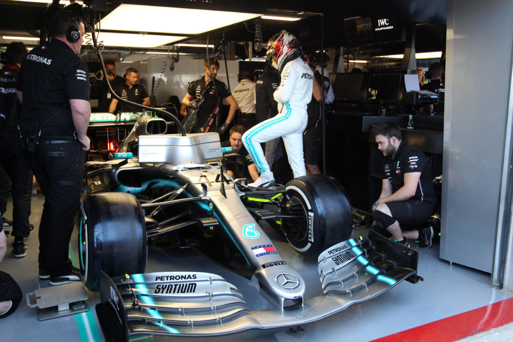 F1 | Mercedes, svelato il problema al sistema idraulico sulla monoposto di Hamilton