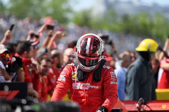 """F1   Ferrari, Leclerc: """"Sono soddisfatto della mia gara"""""""