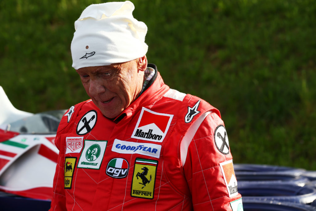F1 | GP Austria, nel paddock di Spielberg è presente la Ferrari 312 T di Lauda