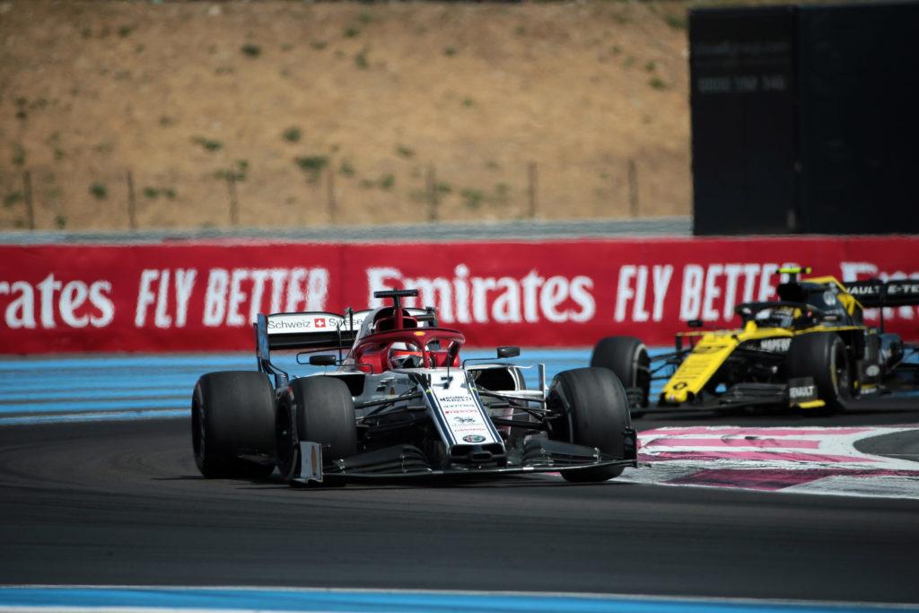 """F1   Alfa Romeo, Raikkonen: """"Mi sono divertito, bello lottare così"""""""