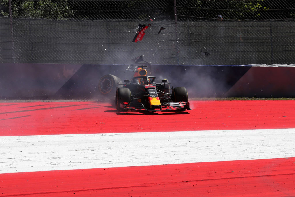"""F1   Red Bull, Verstappen: """"Peccato per l'incidente, ma la macchina funzionava bene"""""""