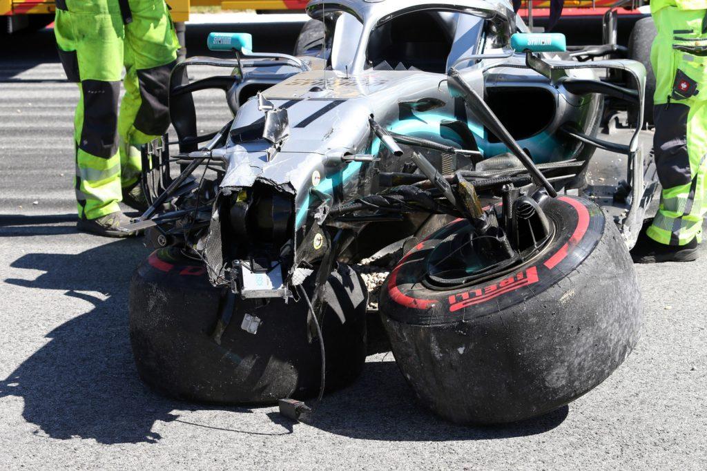 """F1   Mercedes, Bottas dopo l'incidente: """"Preferisco questi circuiti, qui il minimo errore si paga"""""""