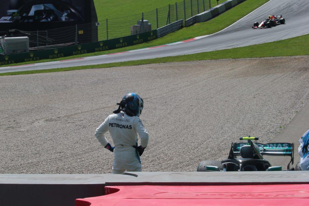 GP Austria 2018, doppio ritiro per la Mercedes