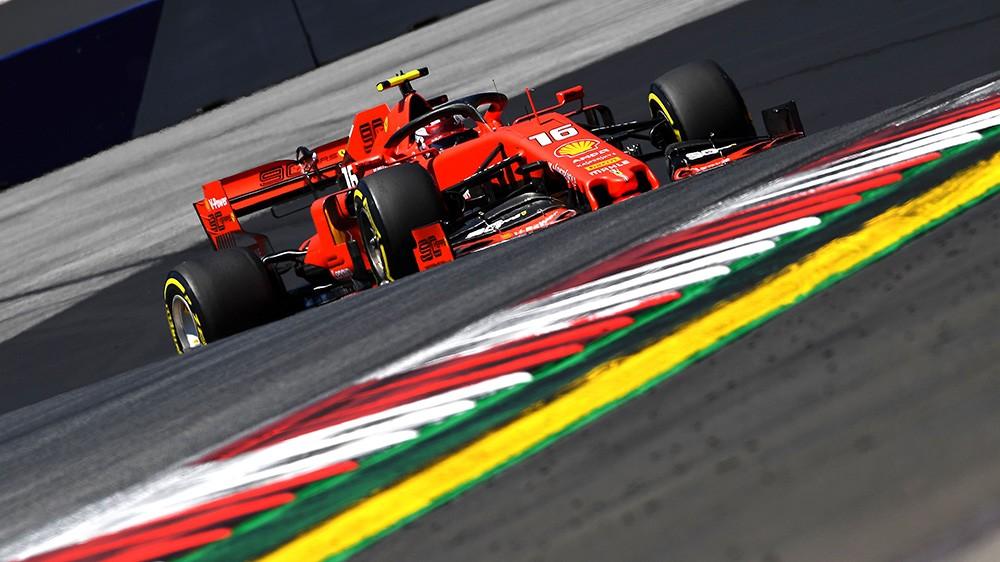 F1   Ferrari, Leclerc firma il miglior tempo nelle FP2 di Spielberg