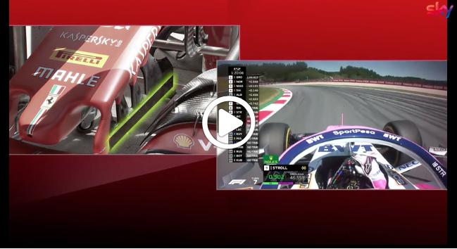 Formula 1 | GP Austria, le novità tecniche apportate dalla Ferrari all'ala anteriore [VIDEO]