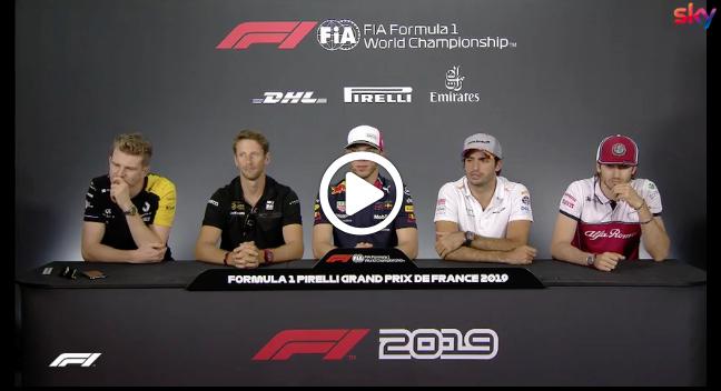 """F1   GP Francia, i piloti sulla penalità a Vettel: """"Scelta eccessiva della commissione gara"""" [VIDEO]"""