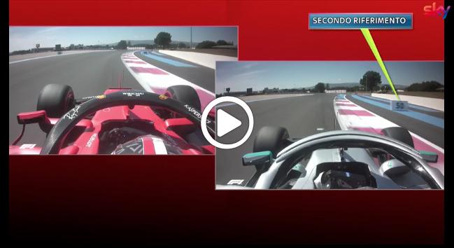 F1 | GP Francia, Hamilton micidiale nel terzo settore: il confronto con Leclerc [VIDEO]