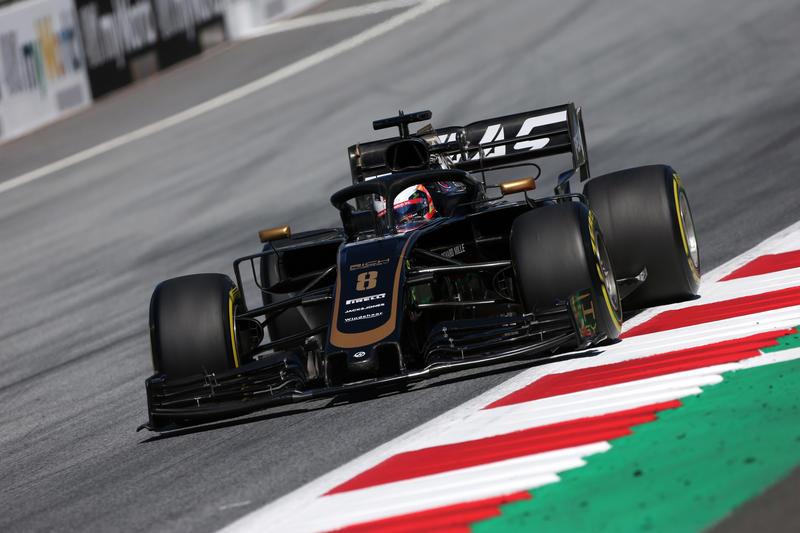 """F1   Haas, Grosjean: """"Una buona giornata"""""""