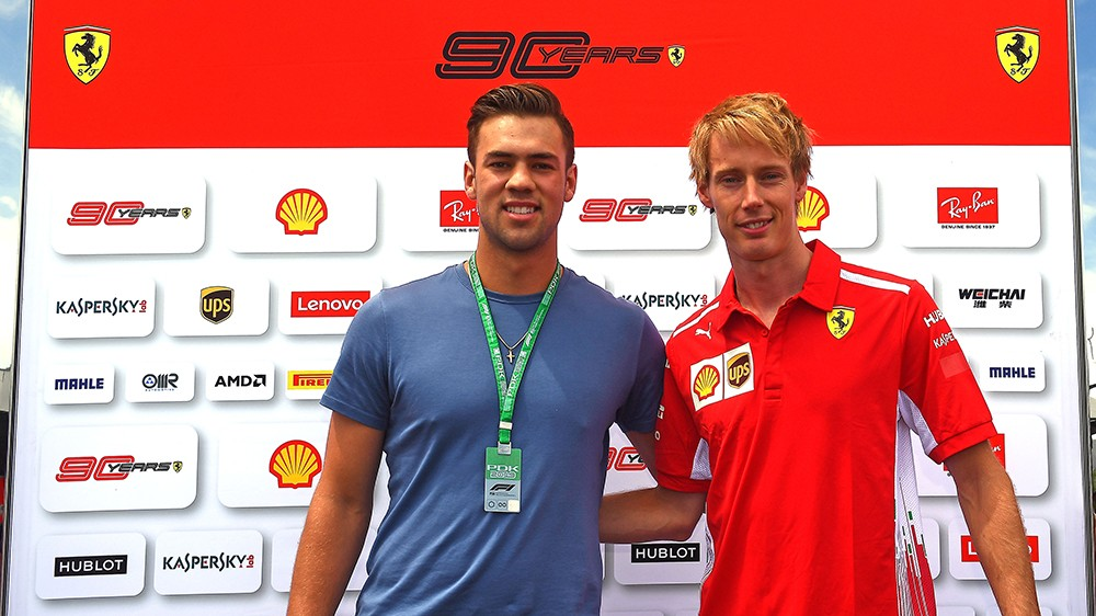 Formula 1 | Ferrari, Brendon Hartley protagonista all'interno del paddock di Montreal
