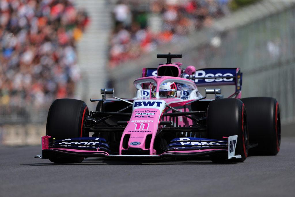 """F1   Racing Point, Perez: """"Il degrado delle gomme rende tutto più interessante"""""""