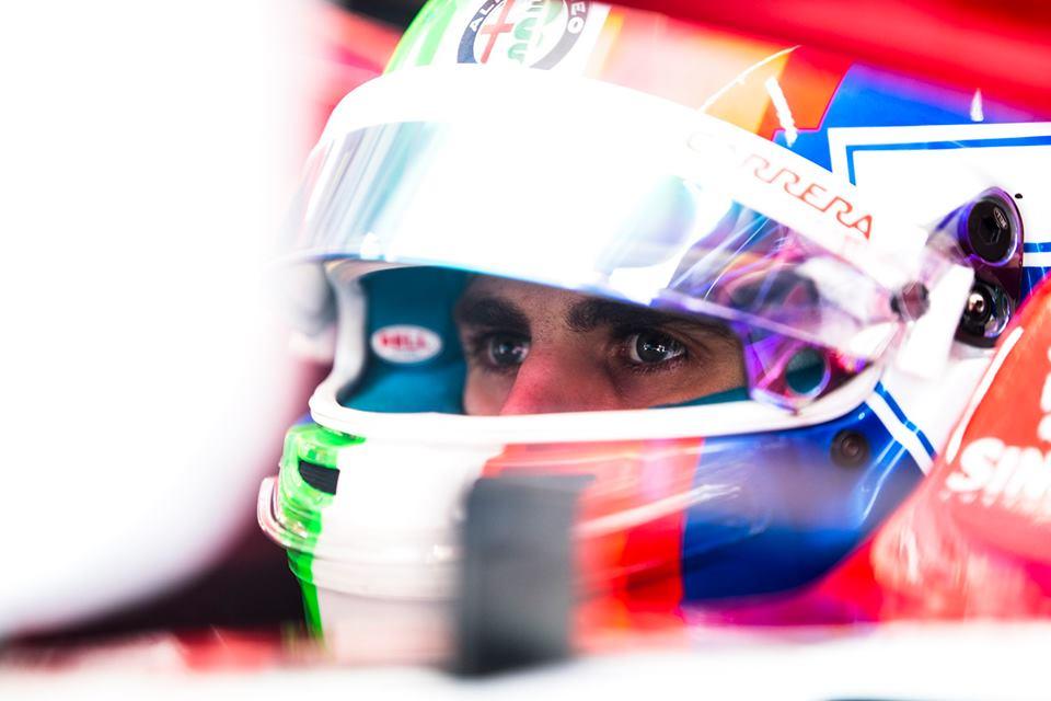F1 | Test Pirelli, Giovinazzi completa 110 giri