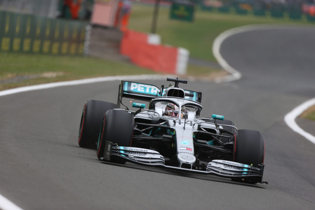 """F1   Mercedes, Hamilton: """"Complimenti a Valtteri, ma sarà una gara lunga"""""""