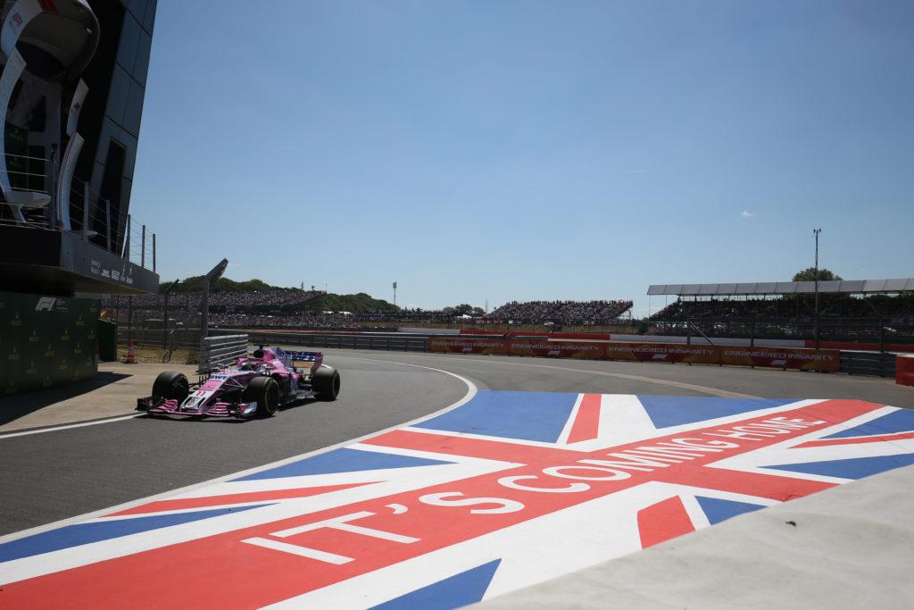 F1   Racing Point alla sua gara di casa, la fabbrica è appena fuori dal circuito di Silverstone
