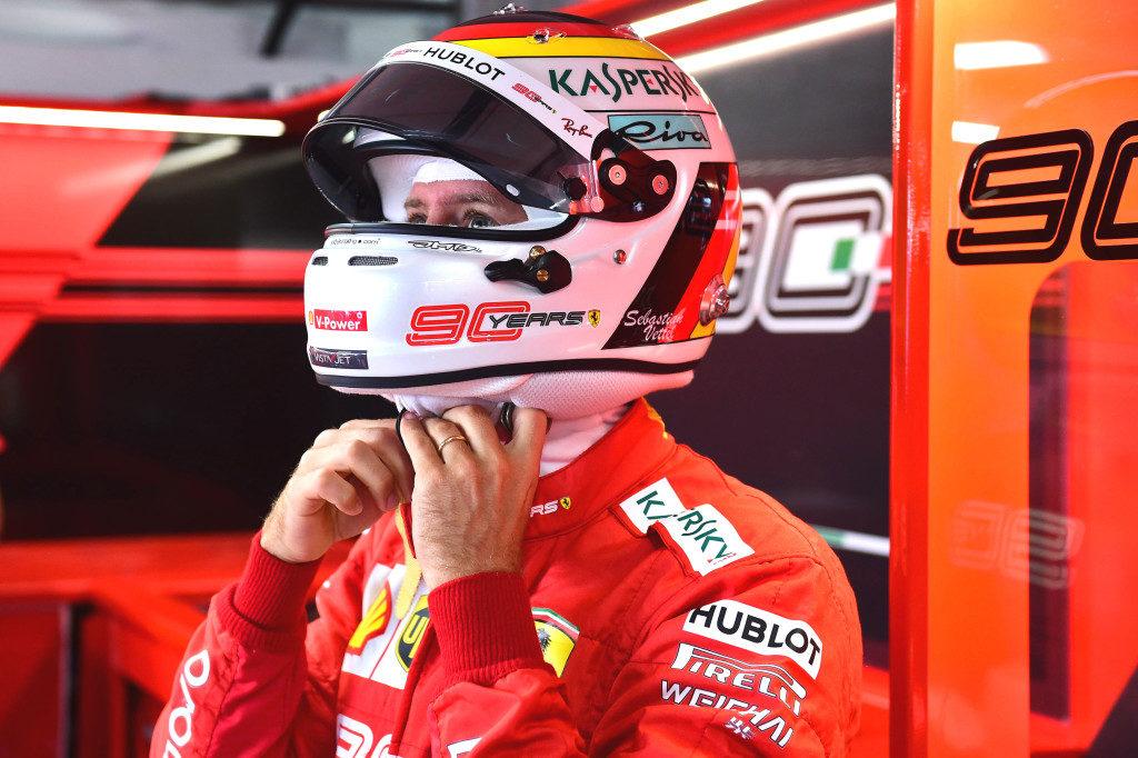 """F1   Ferrari, Vettel: """"Giornata positiva"""""""
